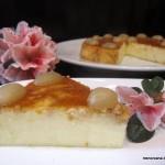 Tarta de queso Mahon semicurado