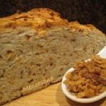 Pan de cebolla en Pirex