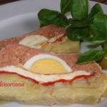 Pastel de carne y tortilla