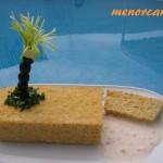 Pastel de puerros y calabacin al varoma