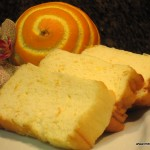 Soufflé de azahar y naranja