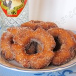 Roscos fritos de semana santa