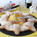 Pan girasol con queso coulommiers (lidl)