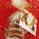 """Galletas de turrón """"árbol de navidad"""""""