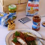 Bifteki griego (hamburguesa rellena)