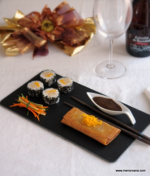 rollito y sushi 1
