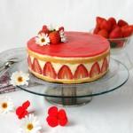 Tarta fraisier (de fresas)