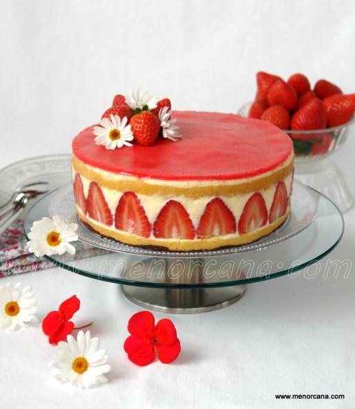 tarta fraisier 1