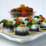 Sardinas marinadas en cítricos con guacamole
